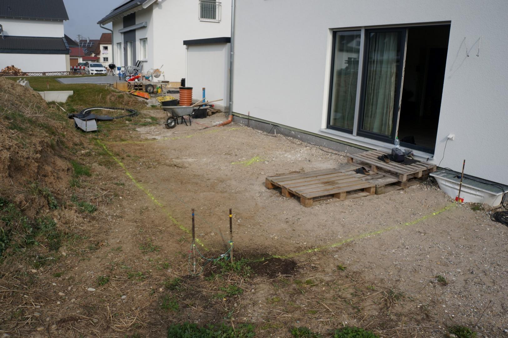 gallery » 51 - 23.03.2015 - beginn terrassenaufbau
